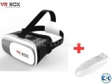 VR Box with Bluetooth Game-pad