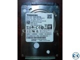 Toshiba 500 gb Laptop Harddisk Used