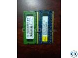 4 GB DDR3 Ram Used