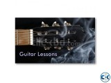 GUITAR LESSON AT HOME