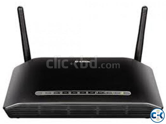 D-Link ADSL2 Wireless N 300 4-Port Wi-Fi Router DSL-2750U | ClickBD large image 0