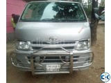Hiace micro for rent
