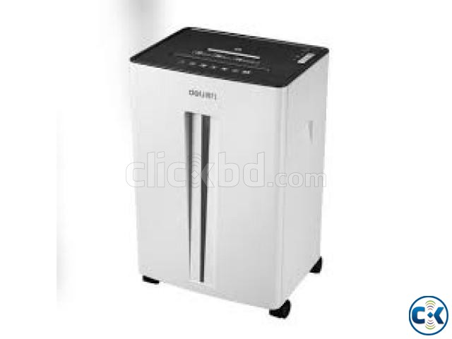 Paper Shredder Deli 9918 20-Sheet 30L Capacity Machines | ClickBD large image 0