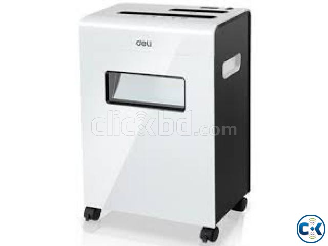 Paper Shredder Deli 9911 Cross Cut 8 Sheet Machine | ClickBD large image 0