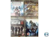 PS3 Games Good Condition