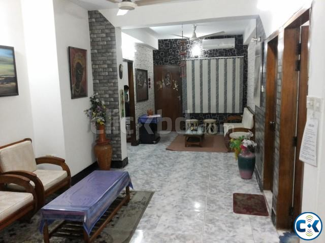 1600 Sft. Fully Furnished Flat for RENT at Uttara-6 | ClickBD large image 0