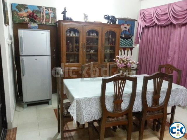 1600 Sft. Fully Furnished Flat for RENT at Uttara-6 | ClickBD large image 1