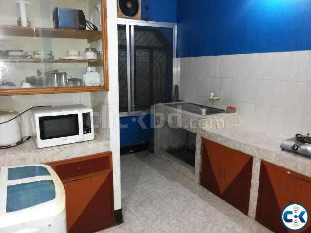 1600 Sft. Fully Furnished Flat for RENT at Uttara-6 | ClickBD large image 2