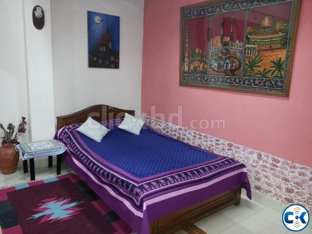 1600 Sft. Fully Furnished Flat for RENT at Uttara-6 | ClickBD large image 4