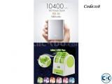 Combo Offer - MI Power Bank 10400mAh USB mini Air Cooler