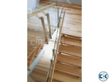 WOODEN STAIR DESIGN CONSTRUCTION 9