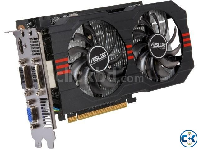 ASUS GTX 750TI dcuii 2GB WITH 5 MONTHS WARRANTY | ClickBD large image 0
