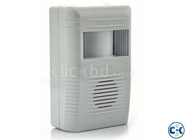 LOWEST PRICE DOOR BELL ALARM CHIME DOORBELL WIRELESS INFRARE | ClickBD large image 0