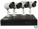 LION-VISION 4 PORT HD DVR KIT. M-520 CCTV HD CAMERA