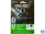 12 Month Xbox Live Gold Membership 1 month free bonus
