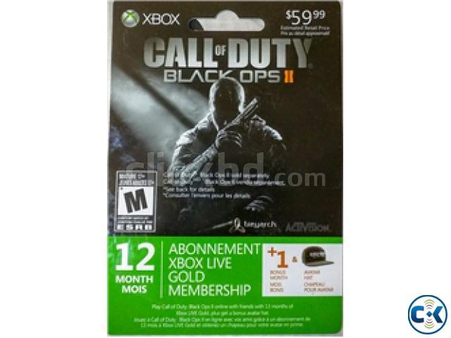 12 Month Xbox Live Gold Membership 1 month free bonus  | ClickBD large image 0