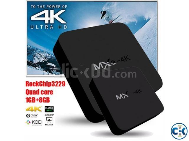 MXQ-4K Android 4.4 Quad Core Smart TV Box | ClickBD large image 0