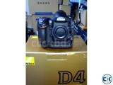 Nikon D4 Professional DSLR Camera