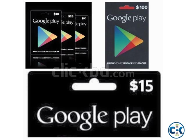 Google Play Apple iTunes PSN Steam Wallet gift card | ClickBD large image 1