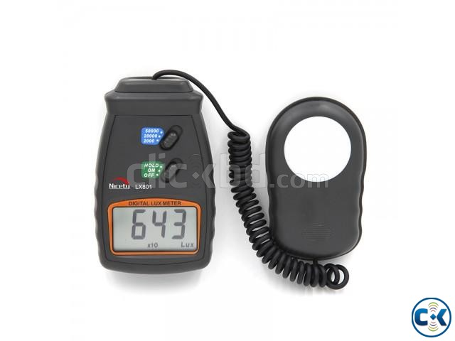 Digital lux Meter Light Meter LX801  | ClickBD large image 4