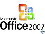 Microsoft Office 2007 Pro 5 pcs left Genuine