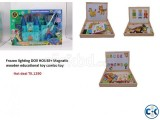 Frozen lighting doll house and Educational toy