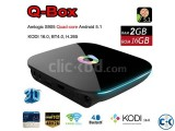 Q-box Amlogic S905Quad Core support KODI 16.0 2G 16G