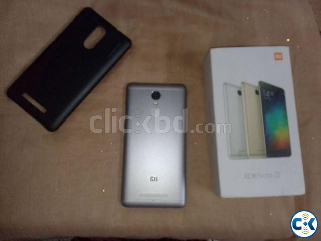 Xiaomi Redmi Note 3 32GB 3GB with all acc box warranty | ClickBD large image 1