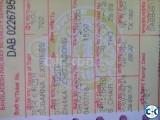 Dhaka- Chittagong Subarna Train Ticket