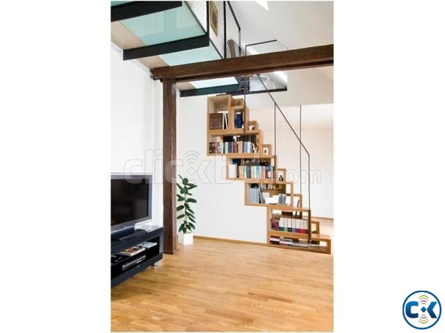 WOODEN STAIR DESIGN CONSTRUCTION 4 | ClickBD