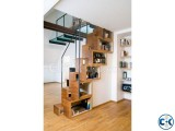 Small image 3 of 5 for WOODEN STAIR DESIGN CONSTRUCTION 4 | ClickBD