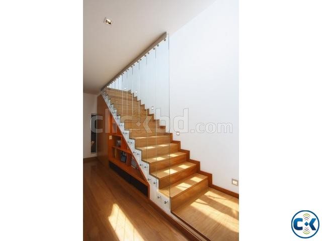 WOODEN STAIR DESIGN CONSTRUCTION 5 | ClickBD large image 2