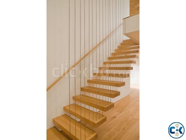 WOODEN STAIR DESIGN CONSTRUCTION 6 | ClickBD