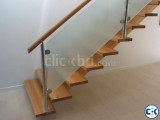 Small image 3 of 5 for WOODEN STAIR DESIGN CONSTRUCTION 7 | ClickBD