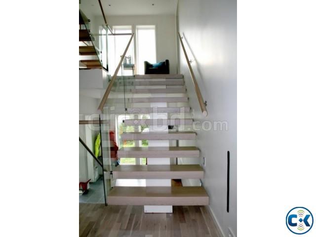WOODEN STAIR DESIGN CONSTRUCTION 9 | ClickBD