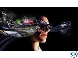 NVIDIA 3D GLASS FOR Laptop Desktop LED LCD TV 01718553630