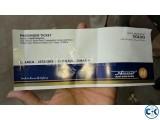 2 Ticket of DHAKA - KHULNA Hanif RM2 AC Ticket on 04-07-2016