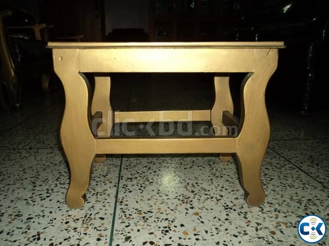 Small Bed Side Glass Table | ClickBD large image 0