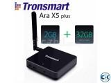 Tronsmart Ara X5 Plus Windows 10 TV Box Cherry Trail Z8300 Q
