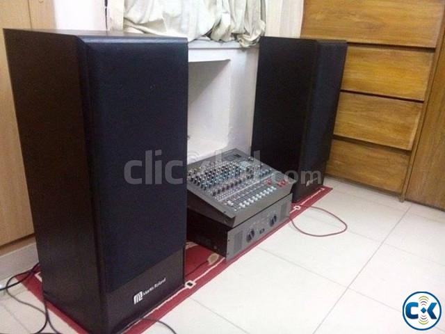 Roland Martin Speakers with Sony power amplifier for sell | ClickBD large image 0