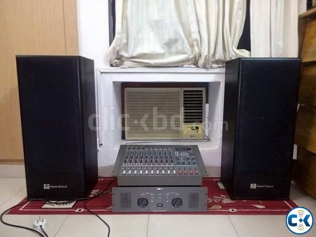 Roland Martin Speakers with Sony power amplifier for sell | ClickBD large image 1