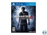 Ucharted 4 A Thief s End PS4 Playstation 4