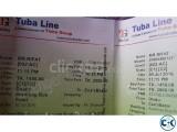 Dhaka to Cox s Bazaar Tuba line AC C1 C2