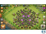 Clash of Clan Th9 haf max
