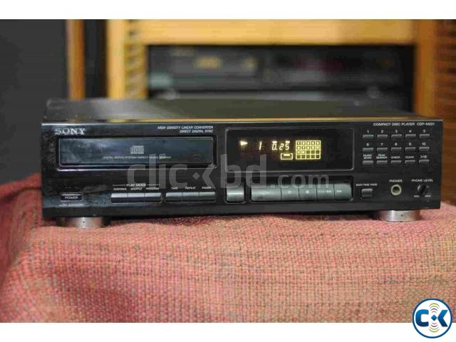 SONY AUDIO CD PLAYER. | ClickBD large image 1