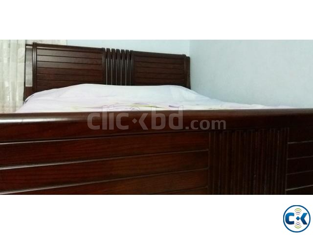 Brothers Furniture Double Bed | ClickBD Large Image 3