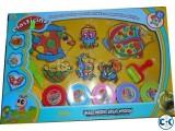 Plasticine magical puzzle color clay