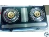 Brand New 2 burner Auto Gas Stove From Italy.