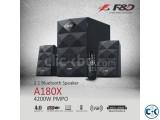 F&D A180X Multimedia 2.1 Speaker Bluetooth USB FM Radio