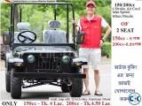 MINI JEEP CAR 150 - Tk.4 LAC 200cc Tk.4.50 LAC